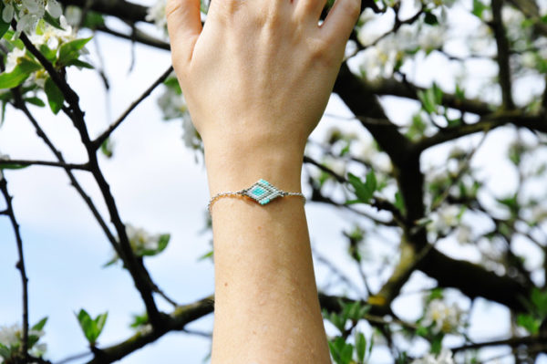 blue lake bracelet