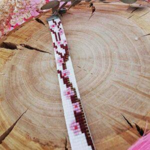 bracelet motif fleurs de cerisier 2