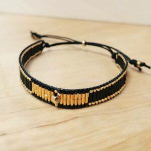 bracelet doré orion réglable