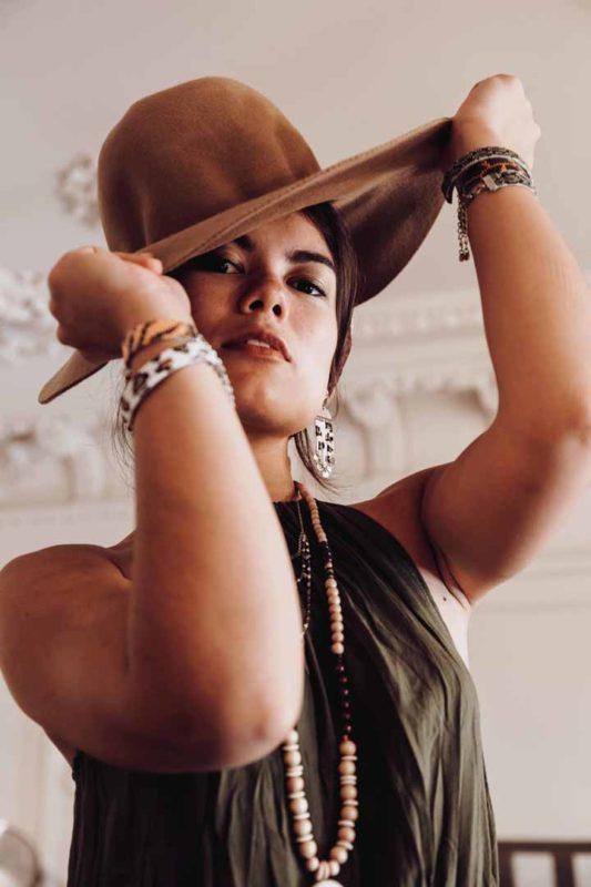 photo chapeau bijou