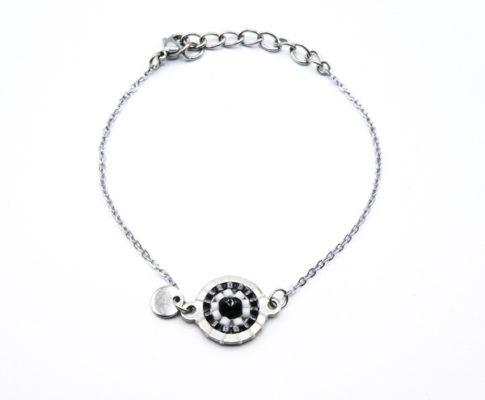 bracelet-rond-zèbre-tissé