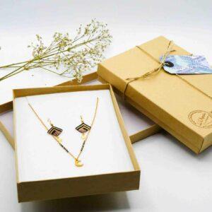 offre spéciale noël parure bijoux poussières d'étoiles
