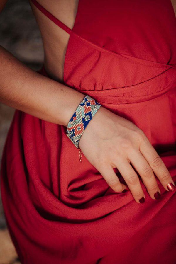 bracelet large tissé miyuki egypte