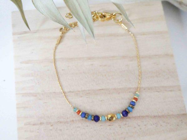 bracelet khnoum perles facettées